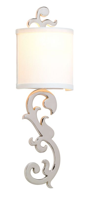 Corbett Lighting 152-11 1 Light Florish Brass ADA Compliant Wall