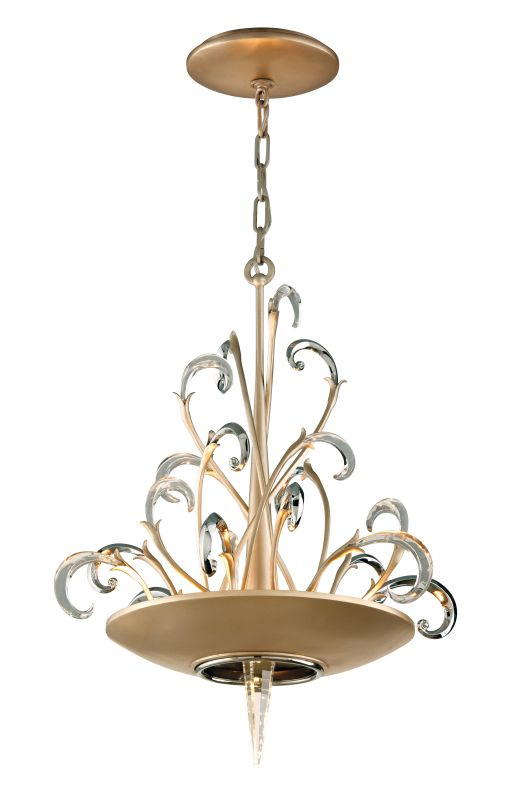 Corbett Lighting 156-43 Crescendo 3 Light Crystal and Hand Crafted