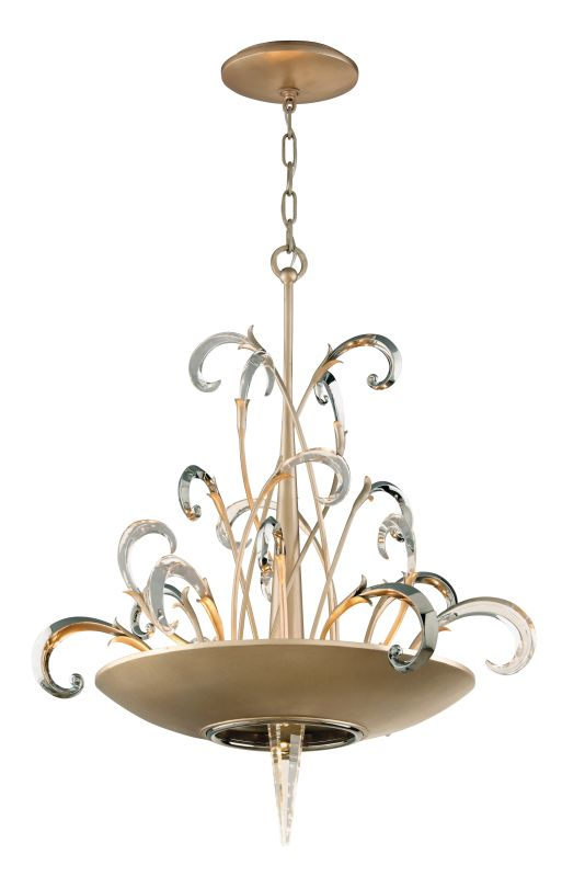 Corbett Lighting 156-46 Crescendo 6 Light Crystal and Hand Crafted
