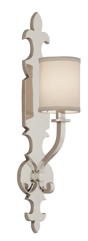 Corbett Lighting 159-11 Esquire 1 Light Solid Brass Wall Sconce