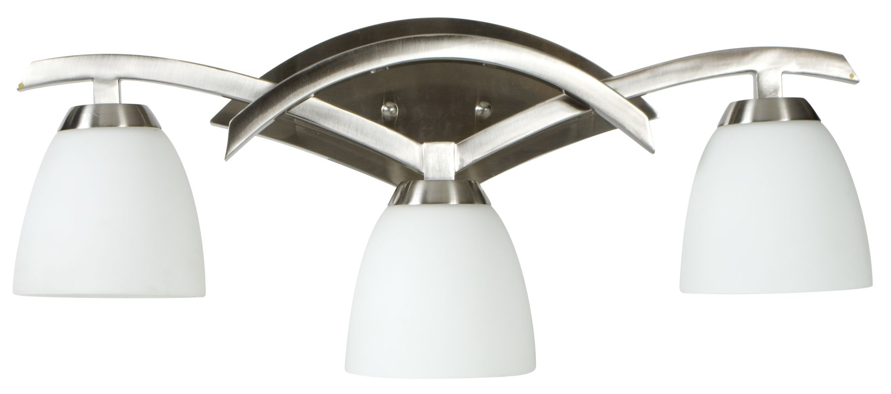 Craftmade 14024 Viewpoint 3 Light Bathroom Vanity Light - 24 Inches Sale $199.00 ITEM#: 1726227 MODEL# :14024BN3 UPC#: 647881105150 :