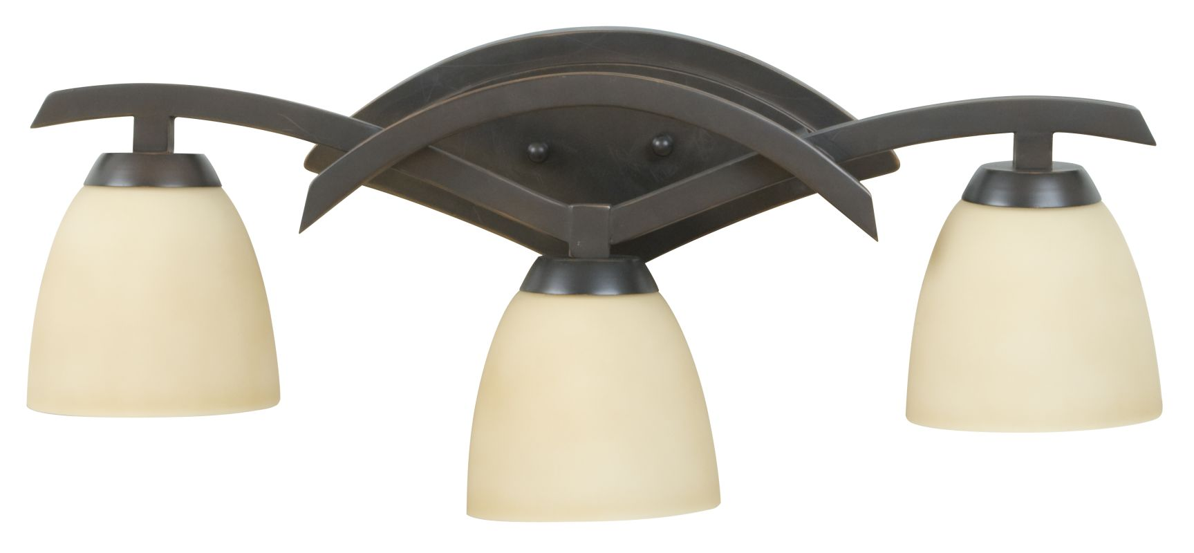 Craftmade 14024 Viewpoint 3 Light Bathroom Vanity Light - 24 Inches Sale $189.00 ITEM#: 1726228 MODEL# :14024OBG3 UPC#: 647881105167 :