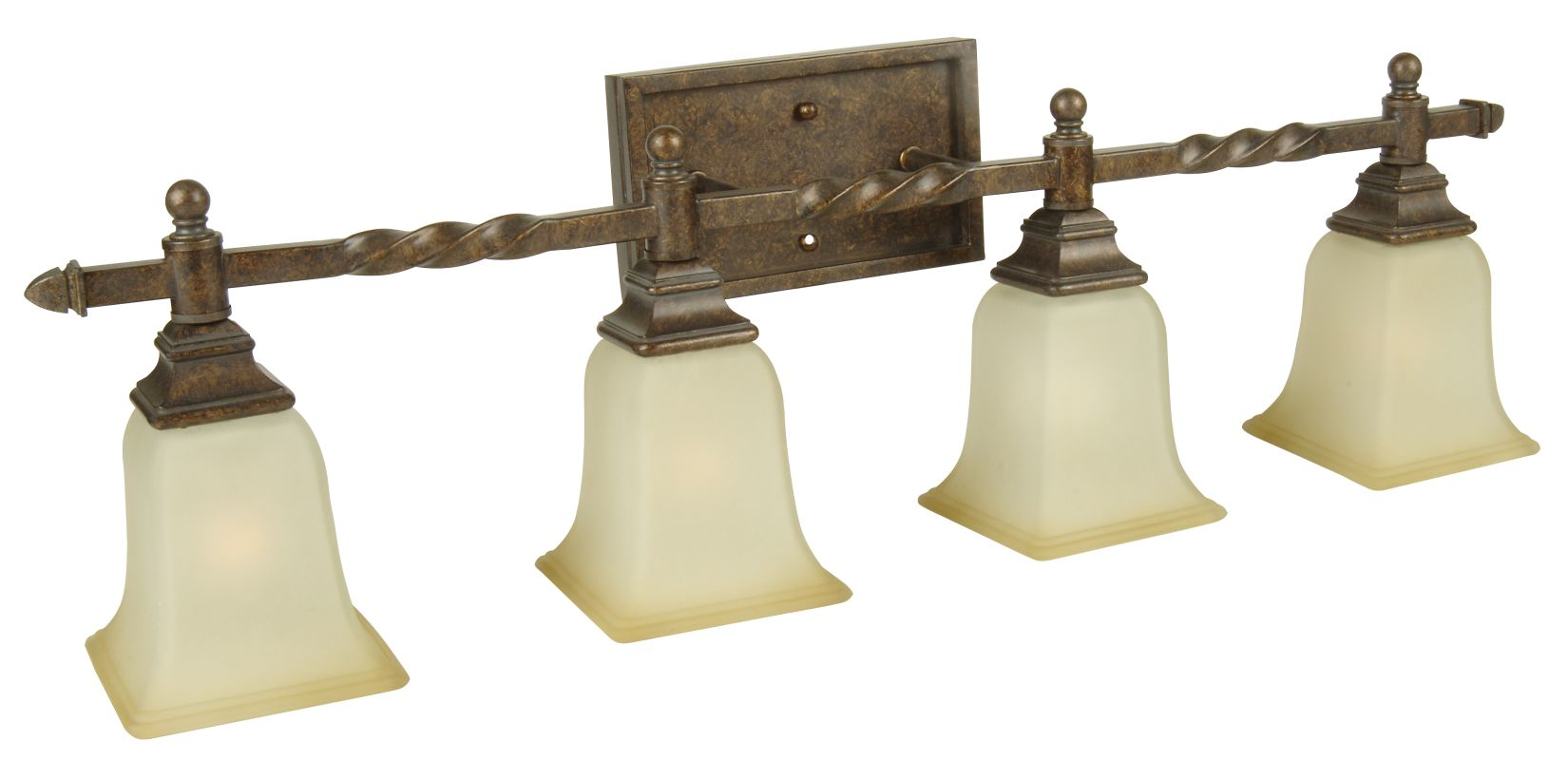 "Craftmade 15433 Ryan 33"" Wide 4 Light Bathroom Vanity Light Peruvian"