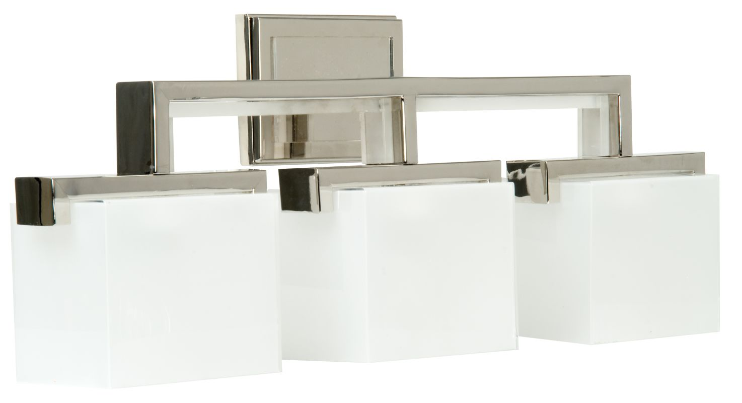 "Craftmade 18226-3 Kade 26"" Wide 3 Light Bathroom Vanity Light Polished"