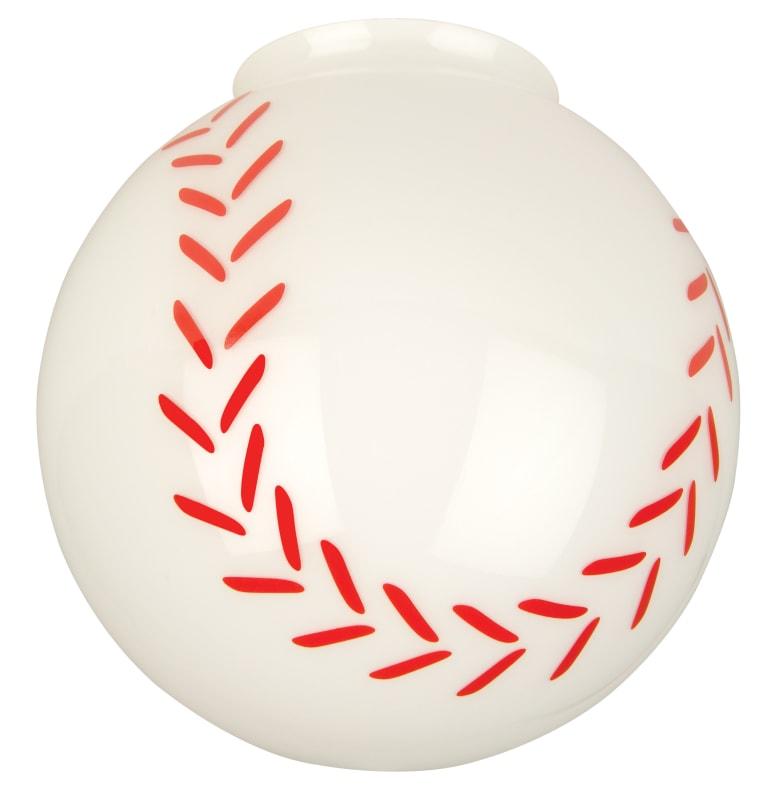Craftmade 405 Baseball Glass Shade for Craftmade Ceiling Fans Baseball