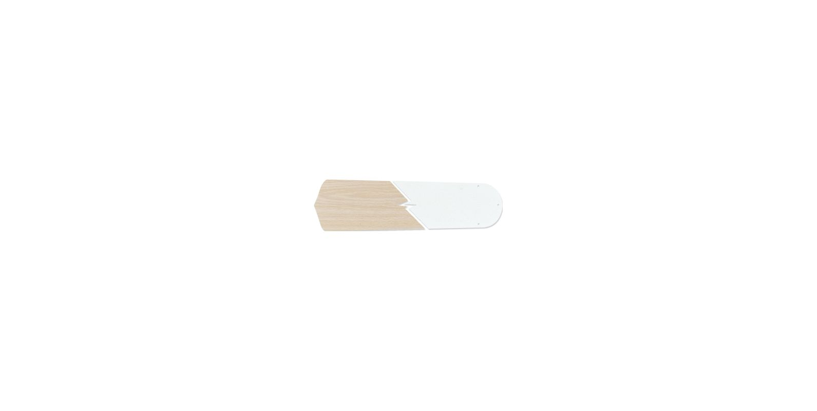 "Craftmade B544S 5 Blade Pack - 44"" Standard Blades Reversible White"