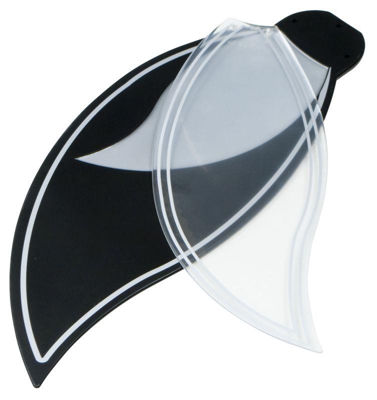 Craftmade BBL52 Bloom Ceiling Fan Blades Black Ceiling Fan Accessories