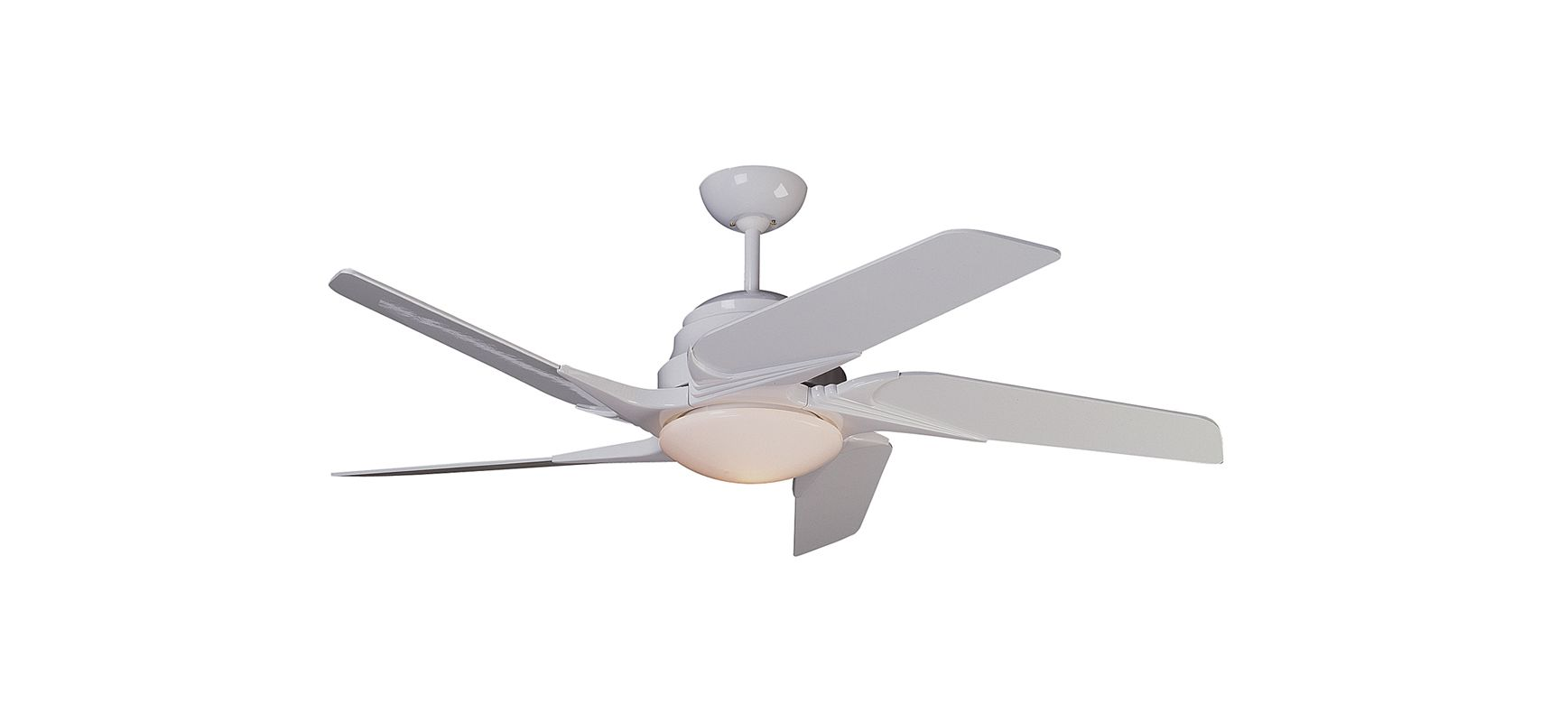 "Craftmade BSO52 52"" Fan Blades for the Solo Fan White Polygloss"
