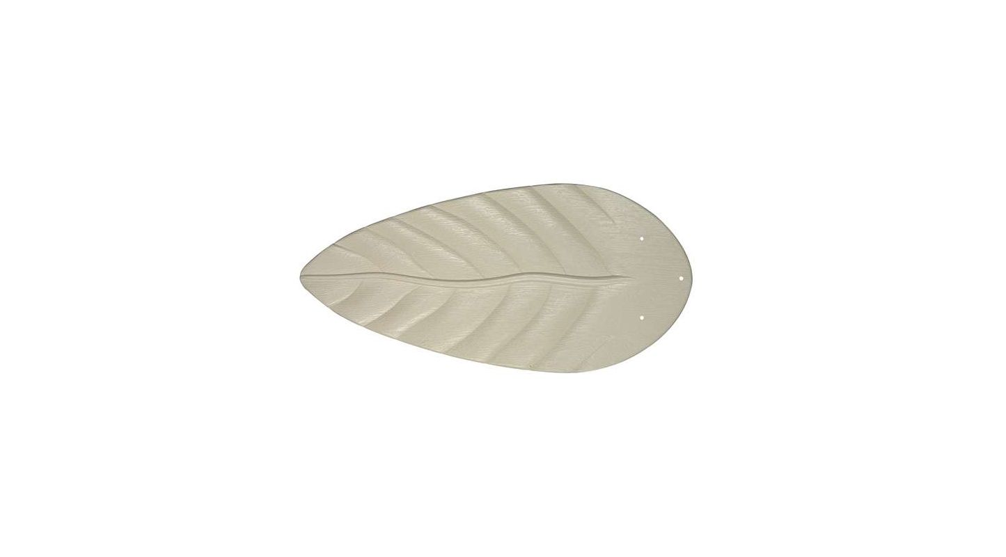 "Craftmade B554T 5 Blade Pack - 54"" Tropical Blades Antique White"