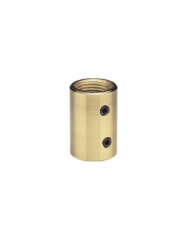 Craftmade Coupler Downrod Coupler for Craftmade Ceiling Fans Polished Sale $7.75 ITEM#: 717610 MODEL# :Coupler-PB UPC#: 647881004705 :
