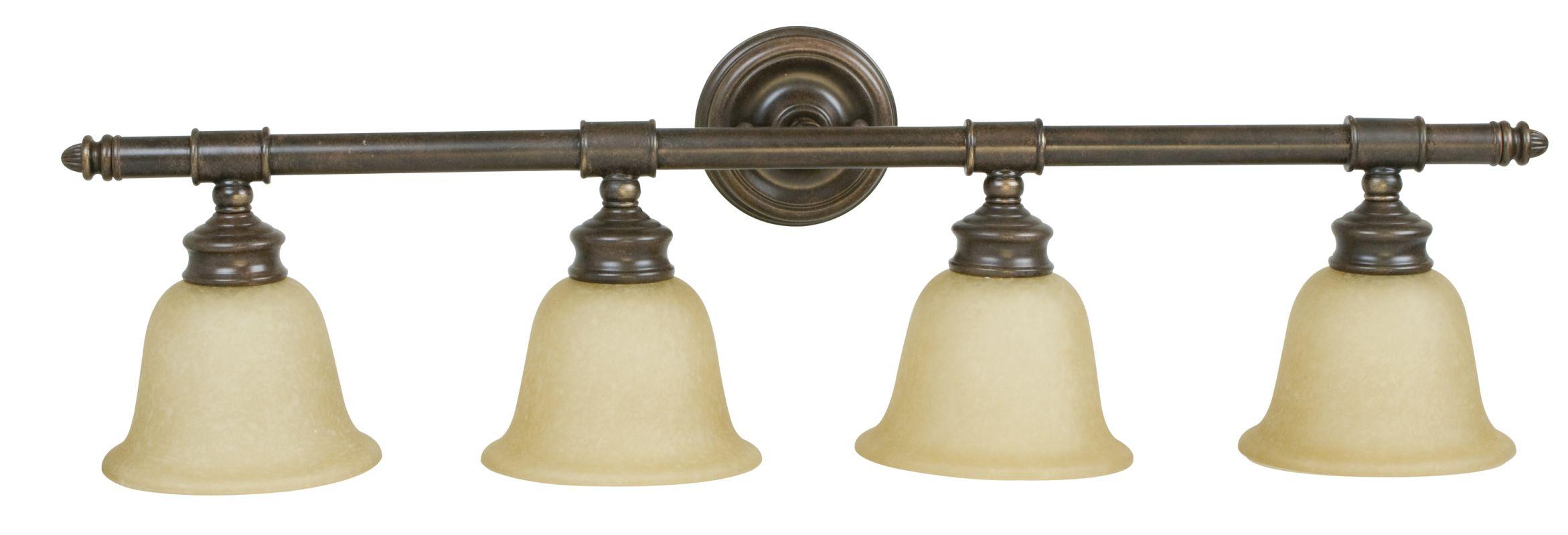 Craftmade 10635 Fresno 4 Light Bathroom Vanity Light Aged Bronze Sale $158.00 ITEM#: 1023821 MODEL# :10635AG4 UPC#: 647881035983 :