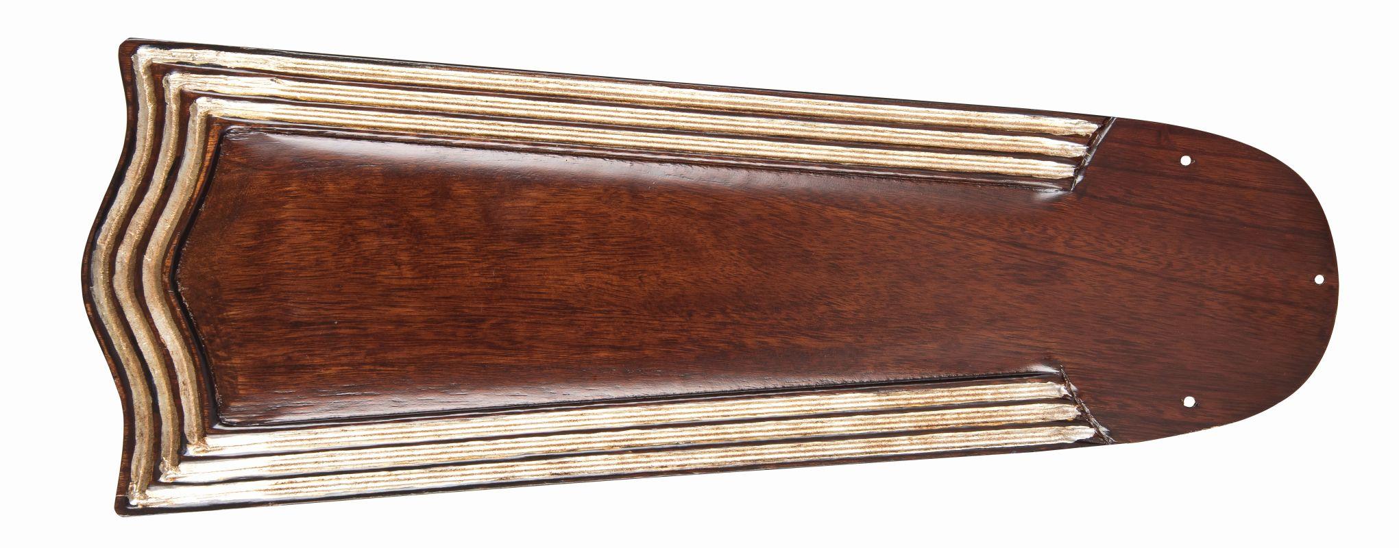 "Craftmade B556C 5 Blade Pack - 56"" Carved Blades Ebony / Vintage"