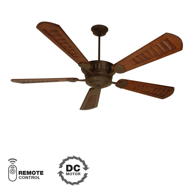 "Craftmade DC Epic Custom Blade Options 70"" 5 Blade DC Indoor Ceiling"
