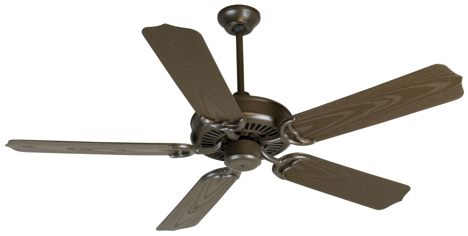 "Craftmade Porch 52"" 5 Blade Indoor Ceiling Fan Brown Fans Indoor"