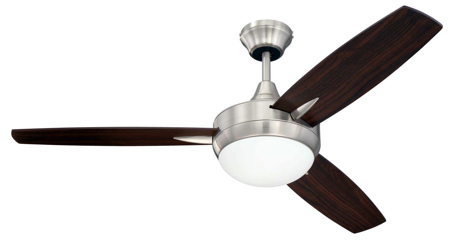 "Craftmade TG483 Targas 48"" 3 Blade AC Motor Indoor Ceiling Fans with"