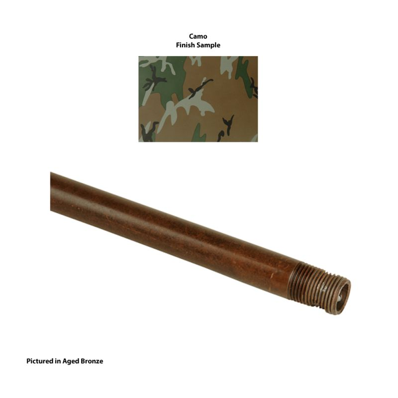 "Craftmade DR18 18"" Down Rod Camo Accessory Down Rods"