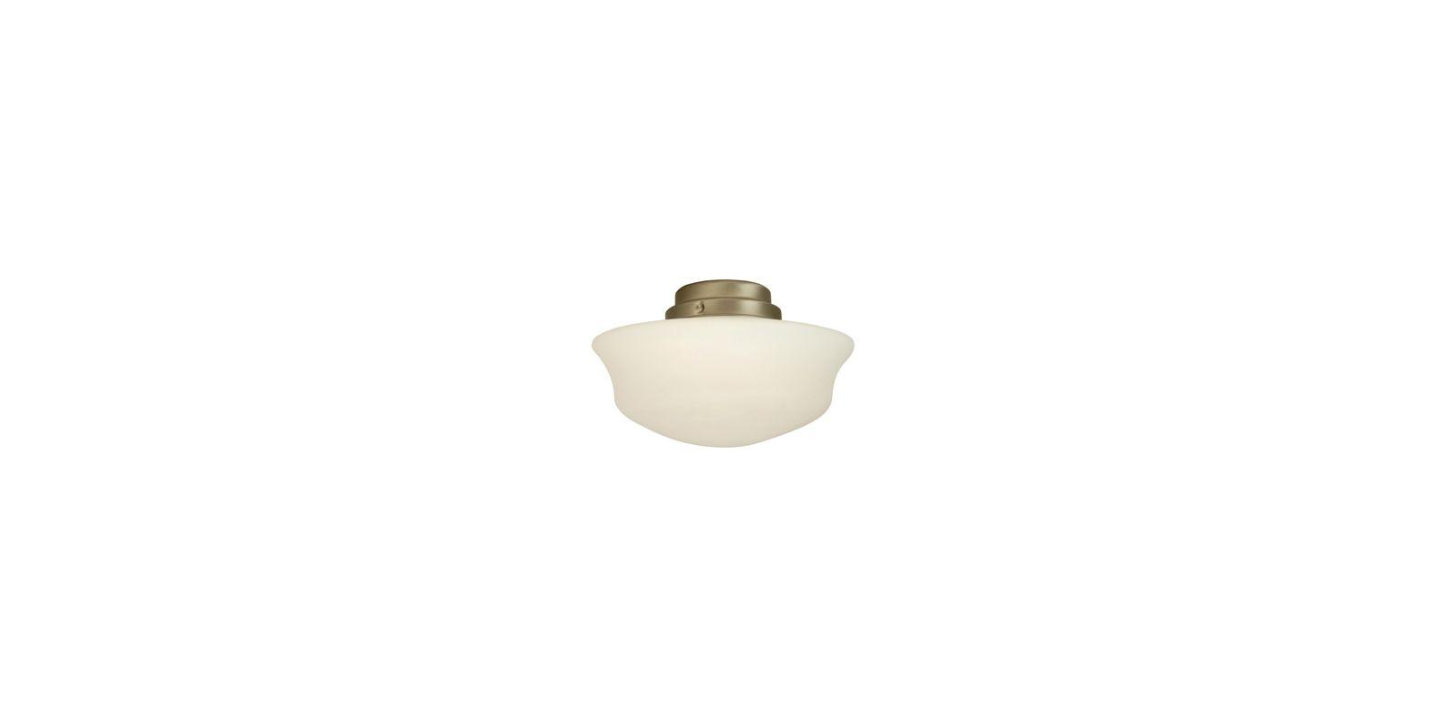 Craftmade LK5-NRG Energy Star Single Light School House Ceiling Fan