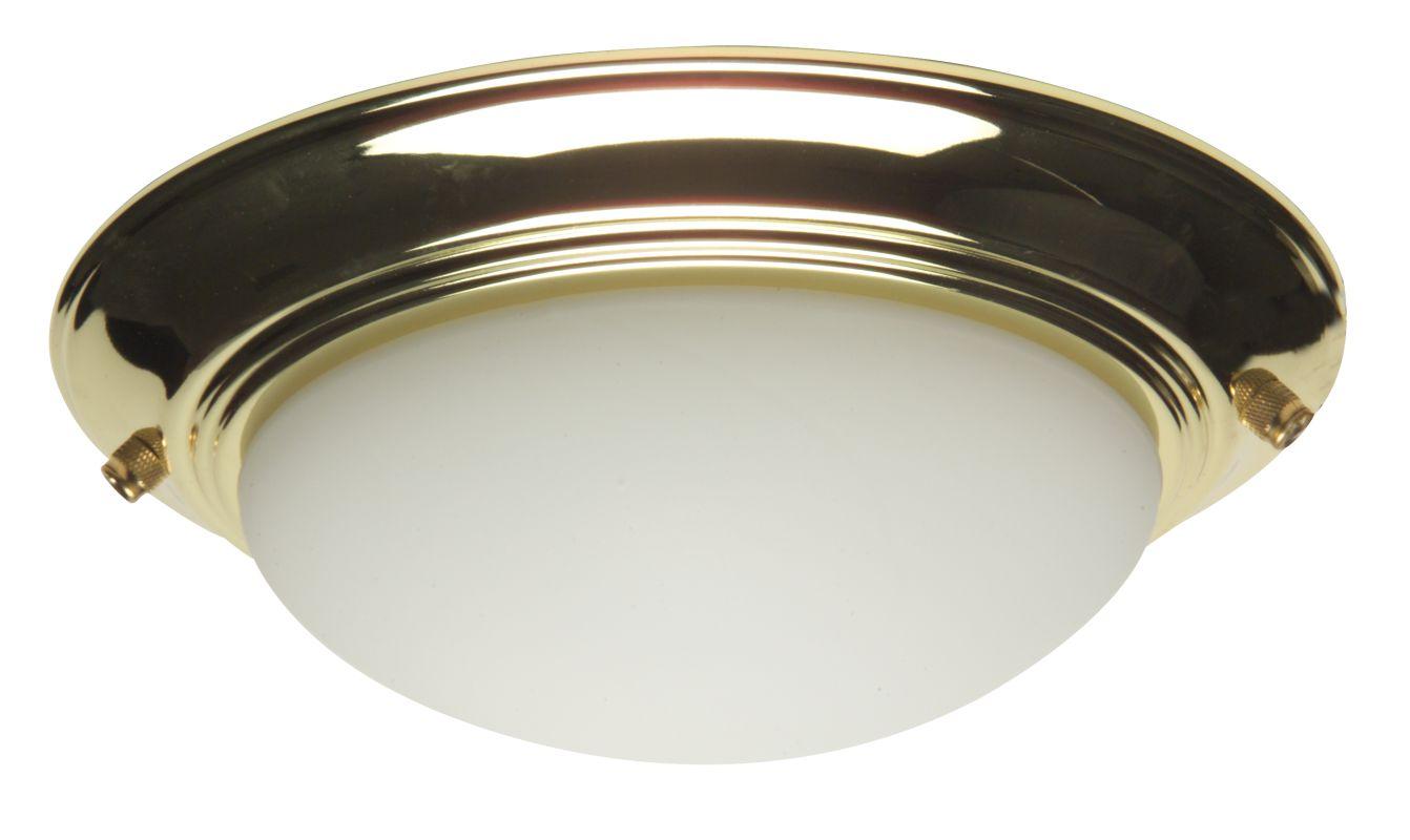 Craftmade LKE53 Two Light Fan Light Kit Polished Brass Fan Accessories