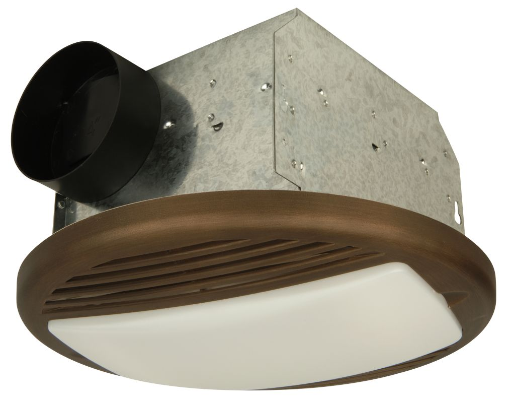 Craftmade TFV70L 70 CFM Ventilation Fan / Light Combination from the