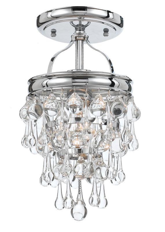Crystorama Lighting Group 131-C Calypso 1 Light Semi-Flush Ceiling Sale $258.00 ITEM#: 2362363 MODEL# :131-CH_CEILING UPC#: 633779024856 :