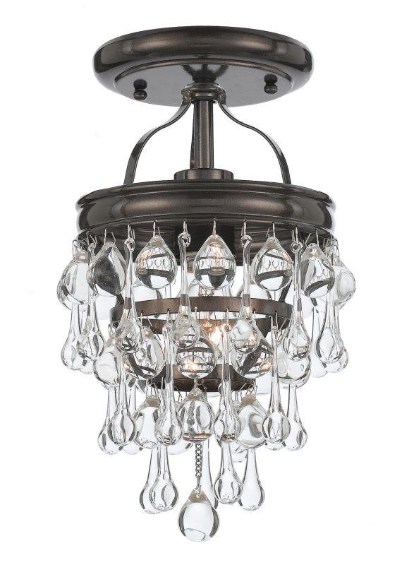 Crystorama Lighting Group 131-C Calypso 1 Light Semi-Flush Ceiling Sale $258.00 ITEM#: 2362364 MODEL# :131-VZ_CEILING UPC#: 633779024863 :