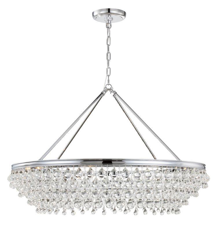 "Crystorama Lighting Group 278 Calypso 8 Light 40"" Wide Chandelier with Sale $2400.00 ITEM#: 2879198 MODEL# :278-CH UPC#: 633779032387 :"