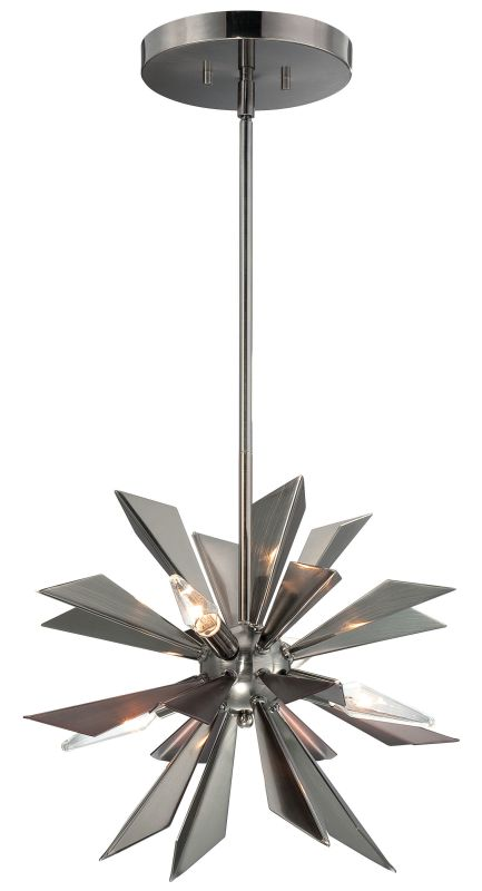 Crystorama Lighting Group 1525 4 Light 1 Tier Pendant from the Galaxy