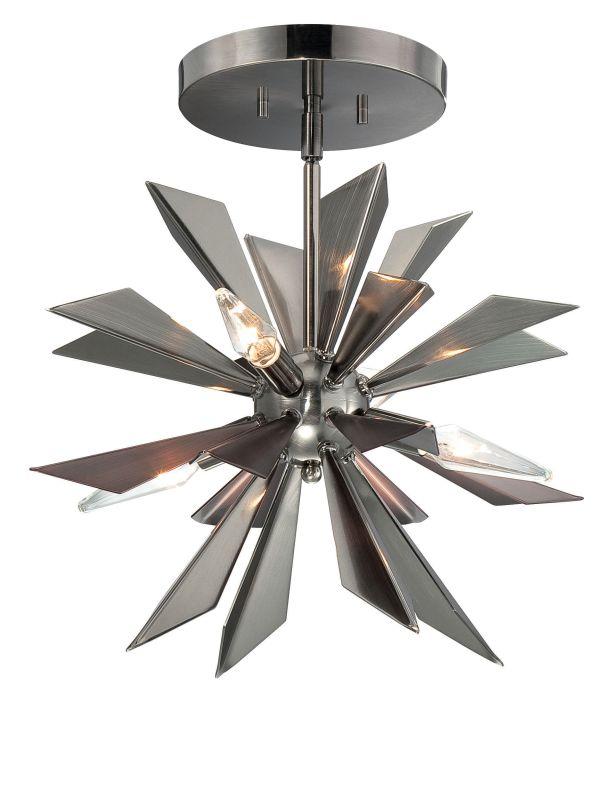Crystorama Lighting Group 1525-CEILING 4 Light Semi Flush Ceiling