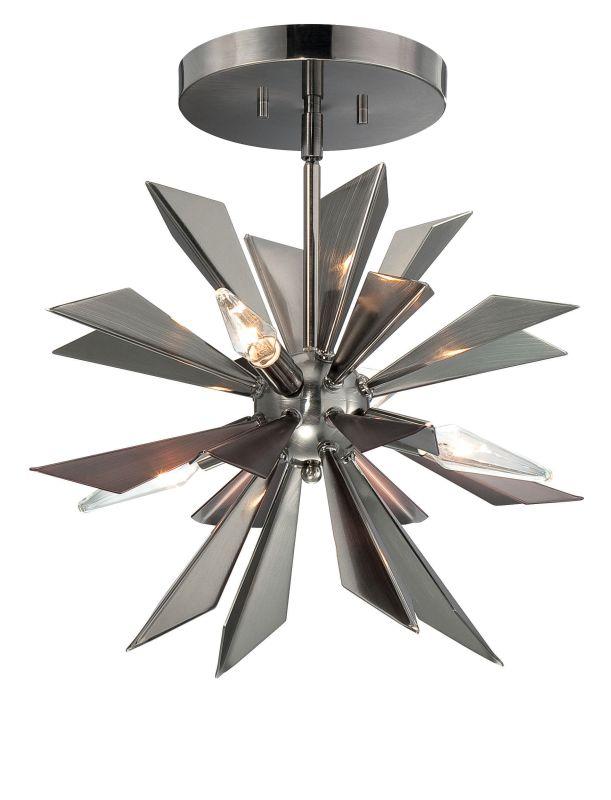 Crystorama Lighting Group 1525-CEILING 4 Light Semi Flush Ceiling