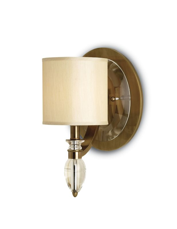 Currey and Company 5082 Sebastion 1 Light Wall Sconce with