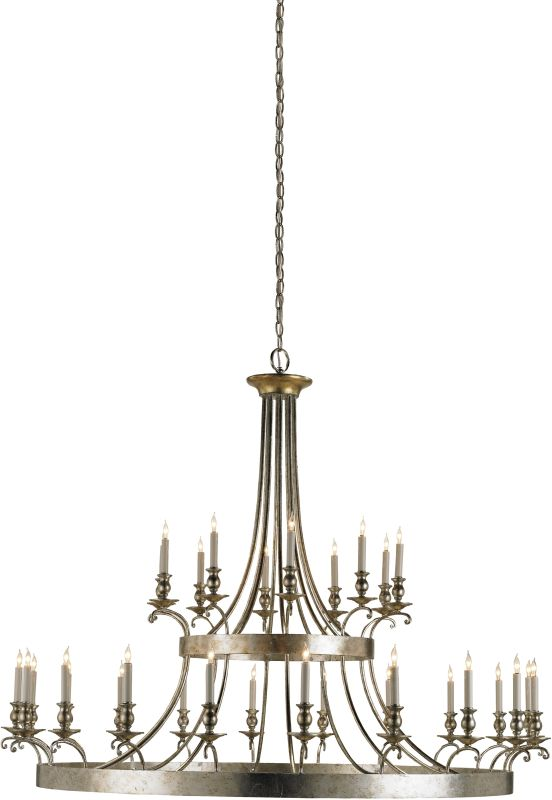 Currey and Company 9582 Lodestar Chandelier with Customizable Shades