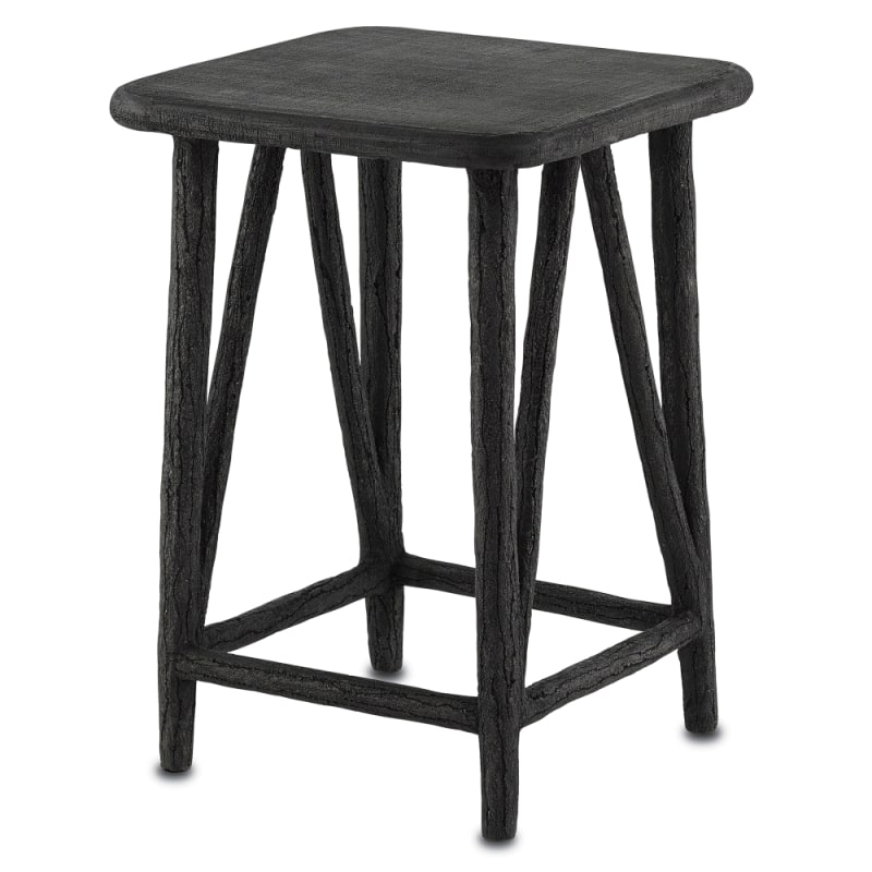 "Currey and Company 2000-0002 Arboria 16"" Wide Concrete Accent Table"