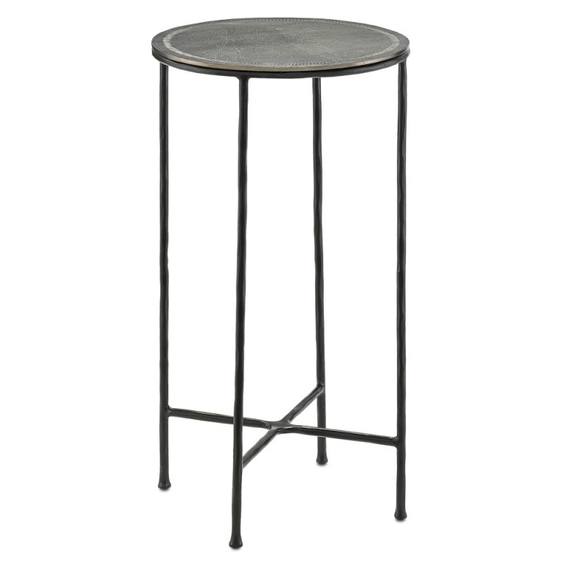 "Currey and Company 4000-0014 Brett 14"" Wide Drinks Table with Cast"