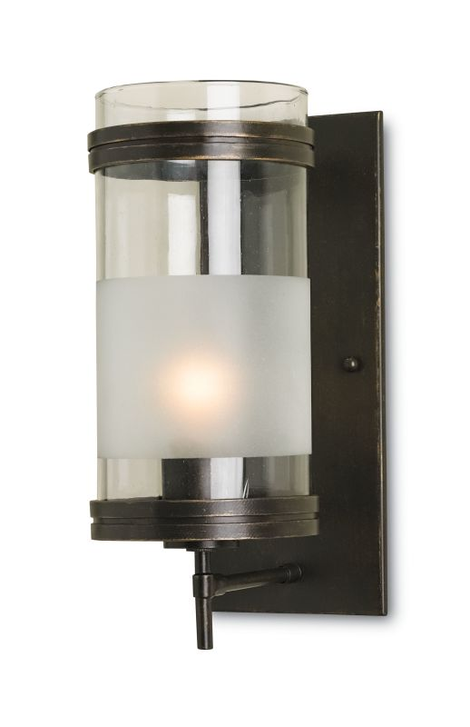 Currey and Company 5130 Walthall 1 Light Wall Sconce Bronze Gold