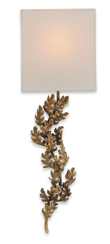 "Currey and Company 5912 Oakington 11"" Wide Wall Sconce Bronze Indoor"