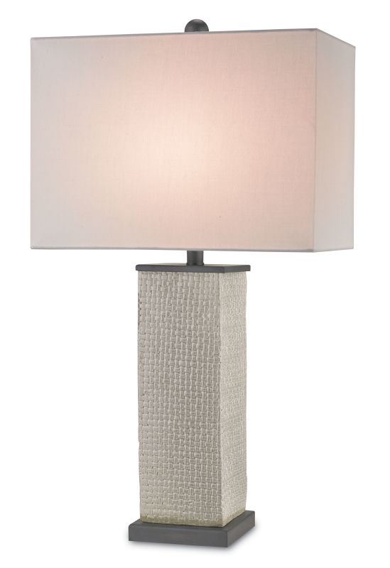 Currey and Company 6023 Reed 1 Light Accent Table Lamp Gray Lamps Sale $420.00 ITEM#: 2493376 MODEL# :6023 :