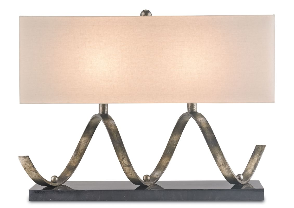 Currey and Company 6136 Maximus 2 Light Accent Table Lamp Pyrite Sale $1490.00 ITEM#: 2493389 MODEL# :6136 :
