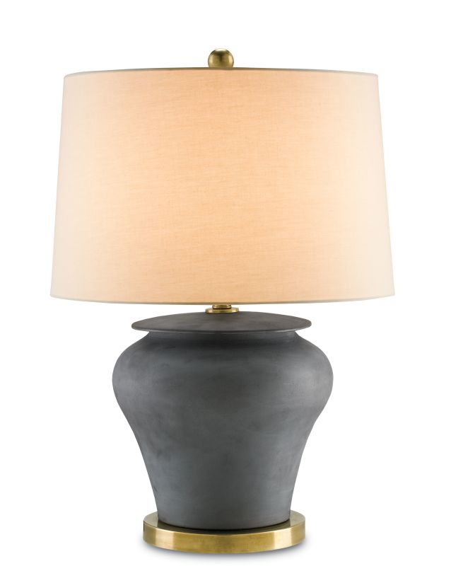 Currey and Company 6249 Winkworth 1 Light Flat Black Table Lamp Flat Sale $590.00 ITEM#: 2238505 MODEL# :6249 :