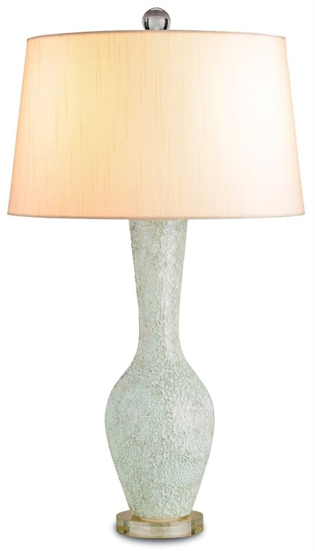 "Currey and Company 6296 Flamboyant 27""H 1 Light Table Lamp with Off"