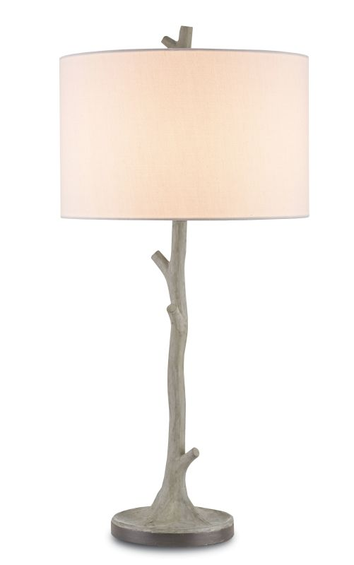 Currey and Company 6359 Beaujon 1 Light Table Lamp with Off White