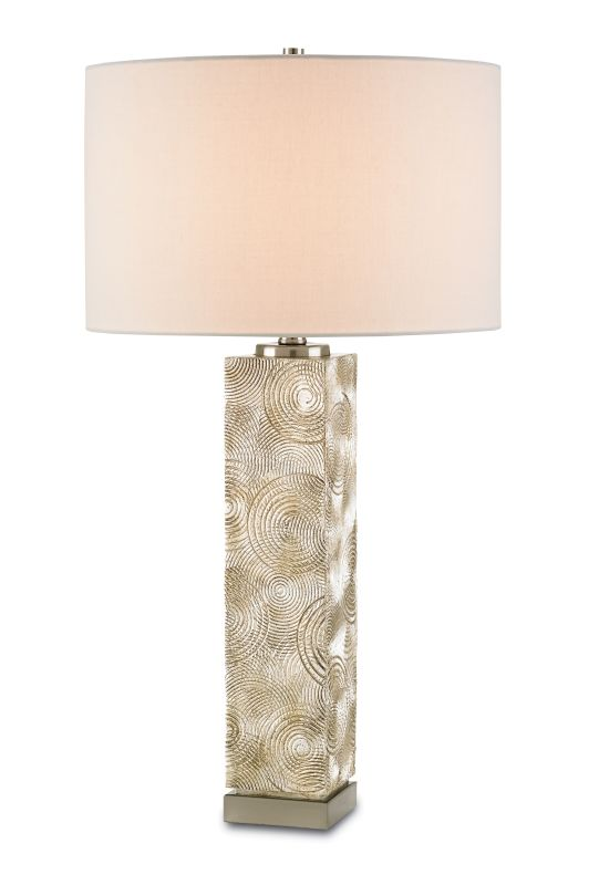 Currey and Company 6526 Sunbeam 1 Light Table Lamp with Off White Sale $390.00 ITEM#: 2604798 MODEL# :6526 :