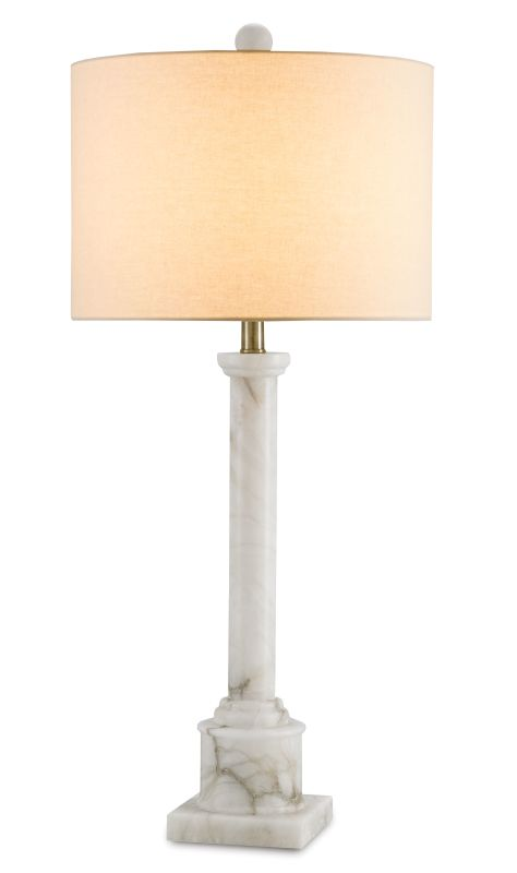 "Currey and Company 6588 Carlisle 34"" High Table Lamp Natural / Bronze"