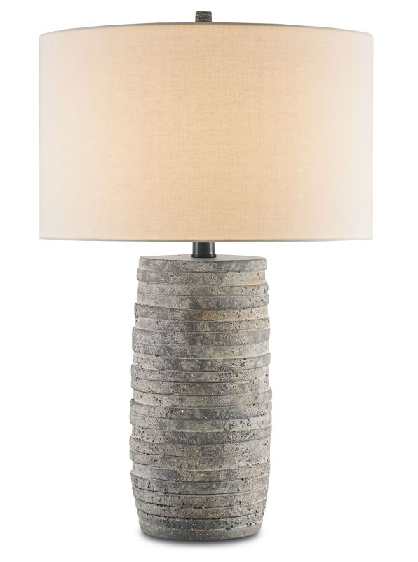 "Currey and Company 6782 Innkeeper 30"" High Table Lamp Rustic Lamps"