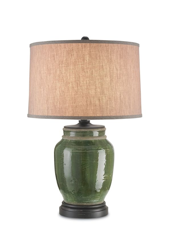 Currey and Company 6827 Carver 1 Light Accent Table Lamp Green Lamps Sale $600.00 ITEM#: 2493408 MODEL# :6827 :