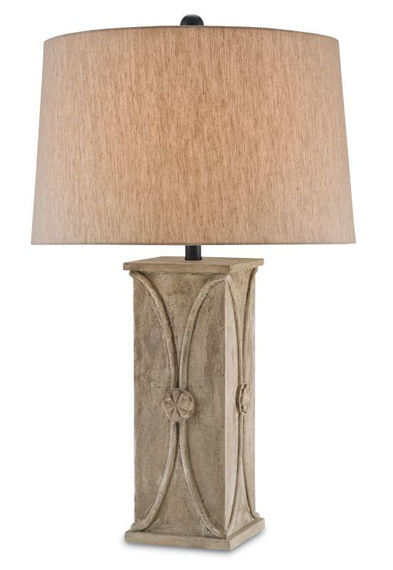 "Currey and Company 6841 Coatsbridge 32"" High Table Lamp Antique"