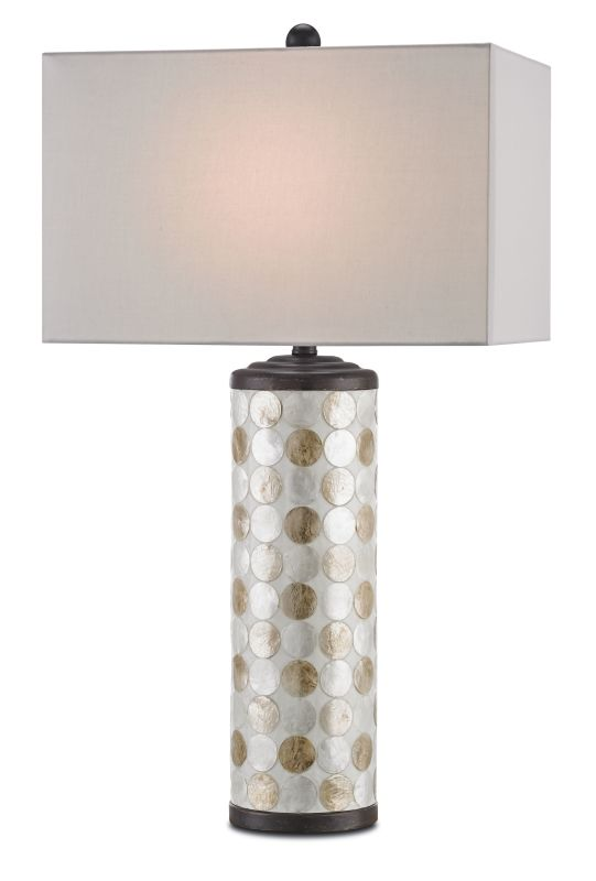 """Currey and Company 6867 Seafair 33"""" High Table Lamp Bronze Gold /"""