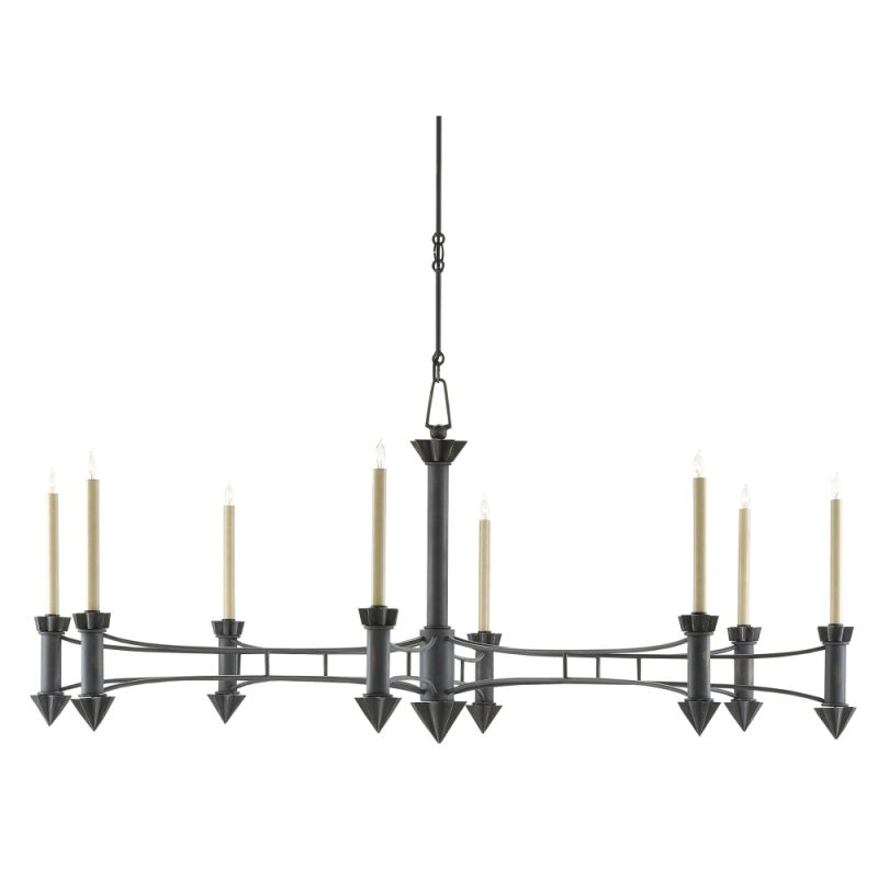 "Currey and Company 9000-0103 Arley 8 Light 61"" Wide Single Tier Candle Sale $2490.00 ITEM#: 2996993 MODEL# :9000-0103 :"