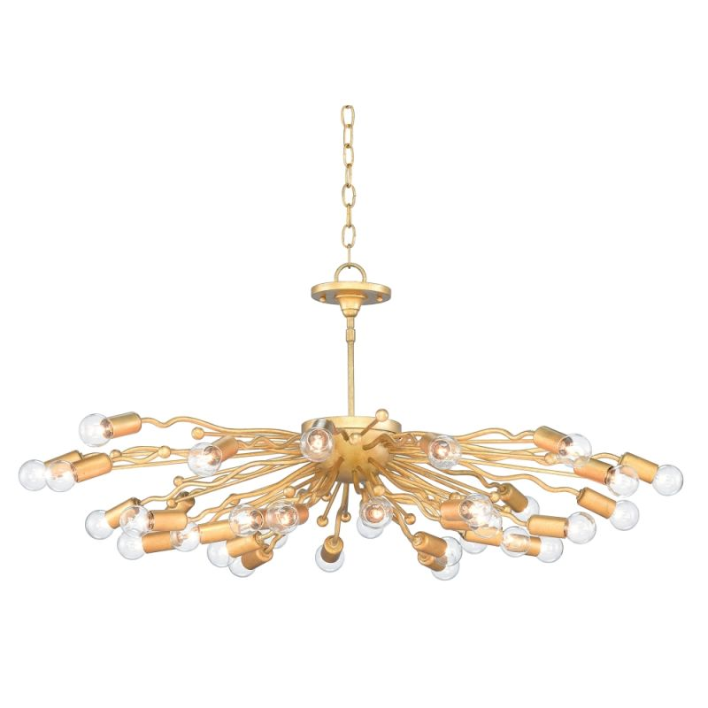 """Currey and Company 9000-0104 Solange 32 Light 38"""" Wide Single Tier Sale $2490.00 ITEM#: 2996994 MODEL# :9000-0104 :"""