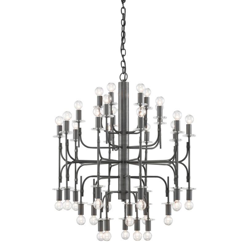 "Currey and Company 9000-0121 Brianza 40 Light 31"" Wide Single Tier Sale $5990.00 ITEM#: 2997010 MODEL# :9000-0121 :"