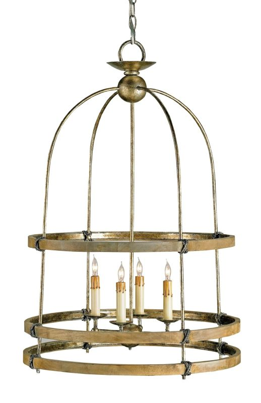 "Currey and Company 9172 Beesthorpe 32""H 4 Light Lantern Pyrite Bronze"